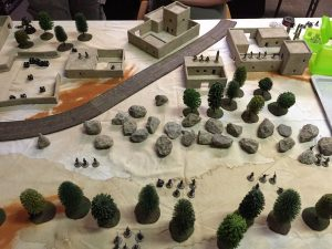Miniature wargames I played in 2016 - Force on Force