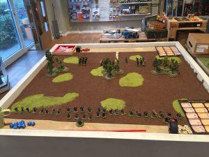 Miniature wargames I played in 2016 - SAGA Vikings vs Anglo-Danes