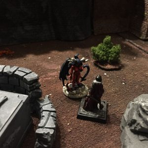 Miniature wargames I played in 2016 - Frostgrave Demon