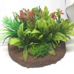 Jungle terrain for wargaming medium pieces