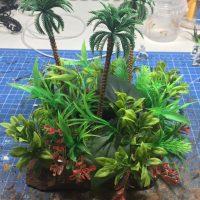 Jungle terrain for wargaming