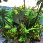 Jungle terrain for wargaming large pieces