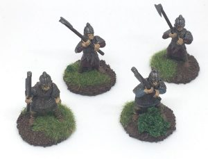 anglo-danish army for saga Hearthguard with Dane axes