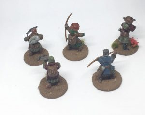 Frostgrave Warband archers crossbowmen backside
