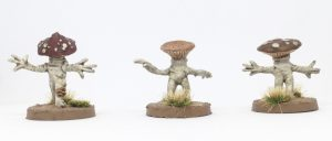Lesser Myconids from Otherworld Miniatures back