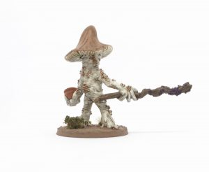 Myconid King from Otherworld Miniatures back