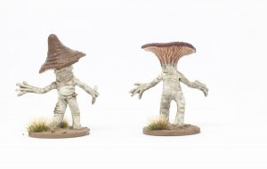 Greater Myconids from Otherworld Miniatures back
