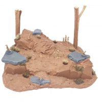 Meerkat den for wargaming