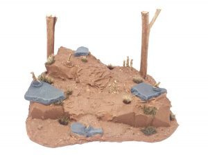 Meerkat den for wargaming front