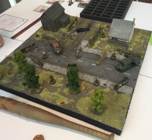 The Walking Dead gaming table