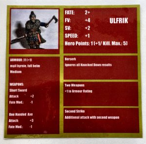 Blood Eagle participation game Ulfrik