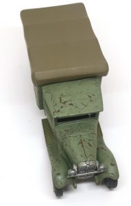 diecast for wargaming with rust effects