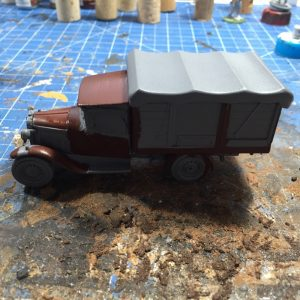 diecast for wargaming painting up the hull