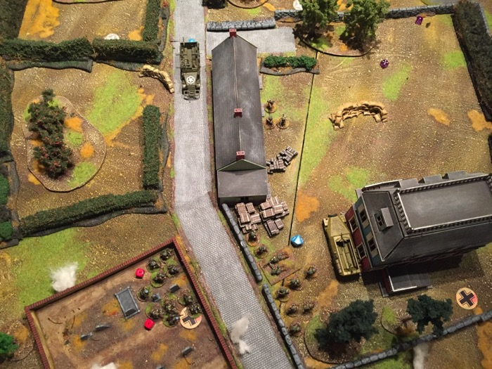 Chain of Command AAR - the bunker firefight at the graveyard