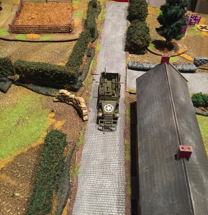 Chain of Command AAR - the bunker M3 half-track advance