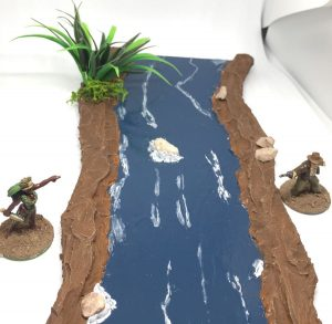 Indiana Jones and the modular river for wargaming