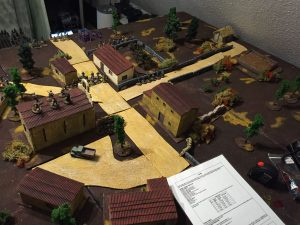 Miniature wargames I played in 2016 - Spanish civil war using triumph & tragedy