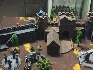 Miniature wargames I played in 2016 - Frostgrave Castle