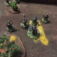 Miniature wargames I played in 2016 SAGA