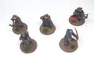 Frostgrave Warband archers crossbowmen