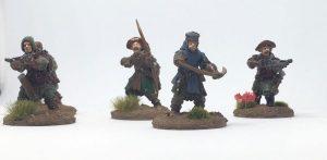 Frostgrave Warband archers crossbowmen closeup
