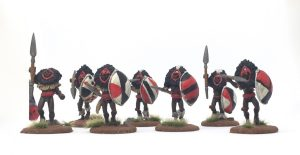 foundry masai warriors