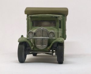 diecast for wargaming closeup front