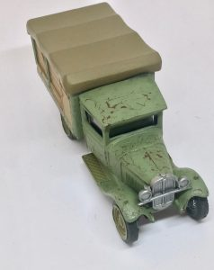 diecast for wargaming closeup top
