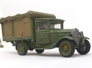 diecast for wargaming closeup
