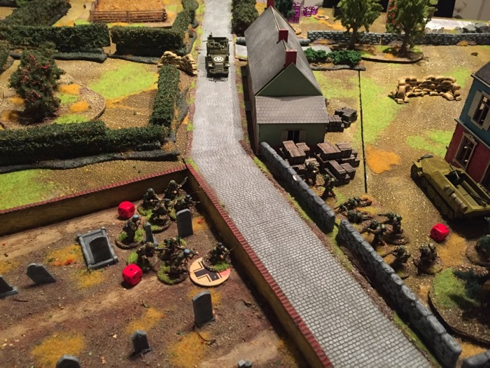 Chain of Command AAR - the bunker US advance grenades