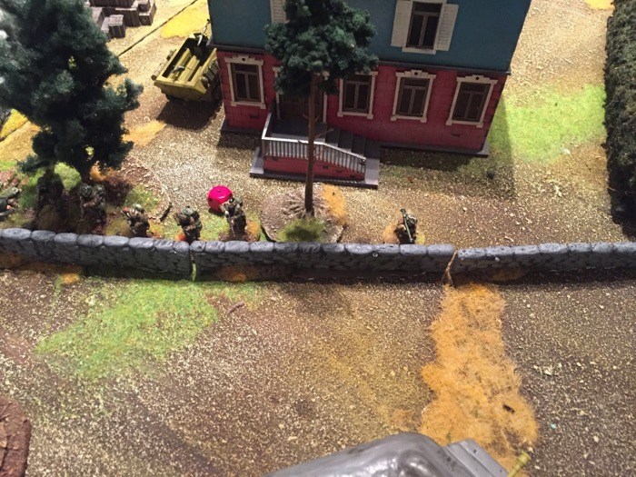 Chain of Command AAR - the bunker US advance