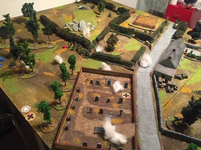Chain of Command AAR - the bunker artillery barrage