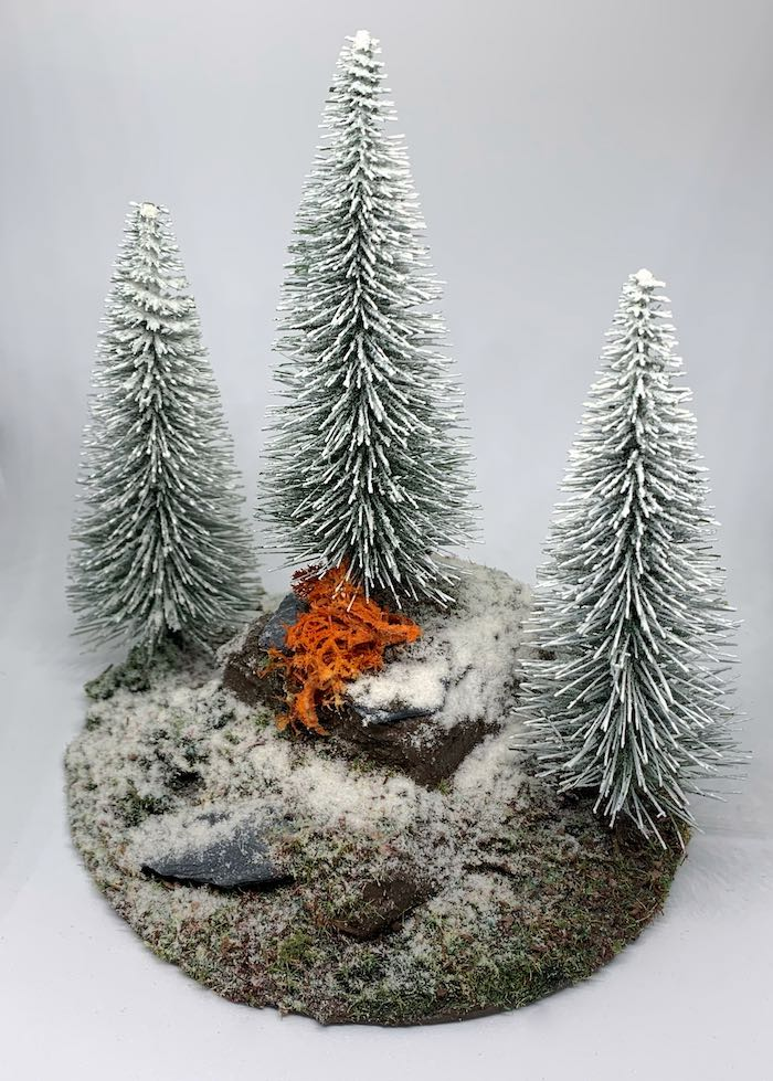 the final winter forest for wargaming