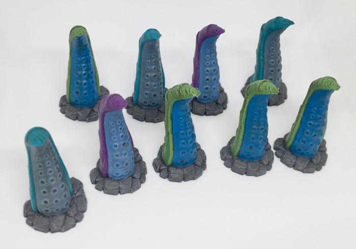 3D printed Tentacles