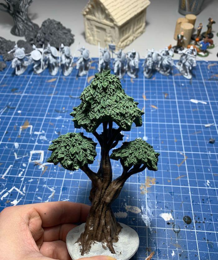 Davy Jones' Locker 3D printed tree