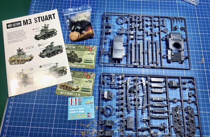 M3 Stuart Warlord the kit