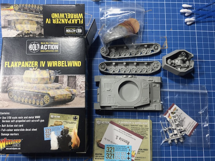 Flakpanzer IV Wirbelwind Warlord the Kit