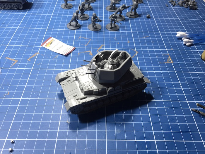 Flakpanzer IV Wirbelwind Warlord before priming