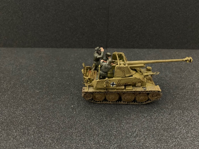 The finished Marder III from Warlord