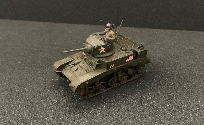M3 Stuart Warlord finished