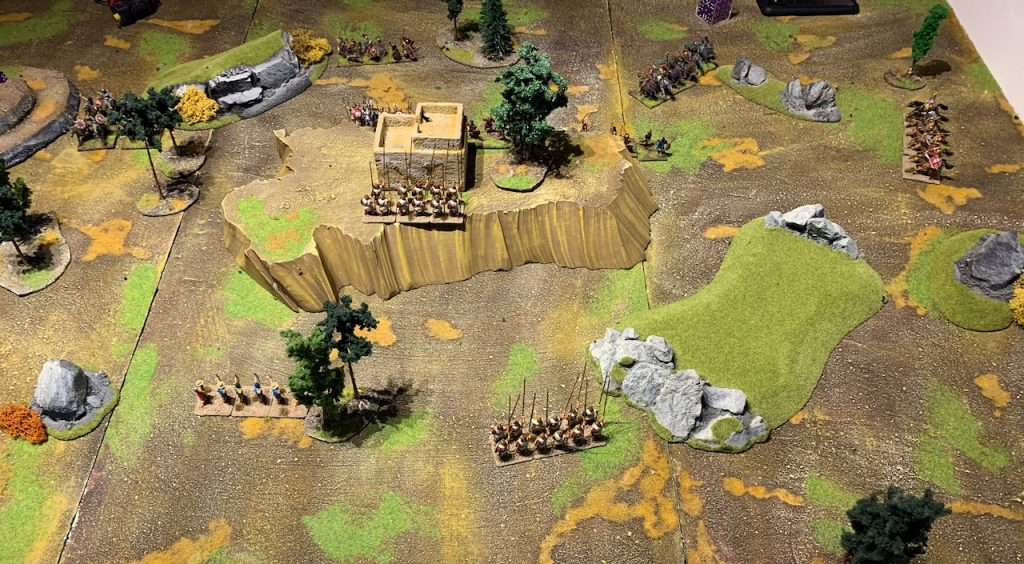Macedonian army for Lion Rampant game 1
