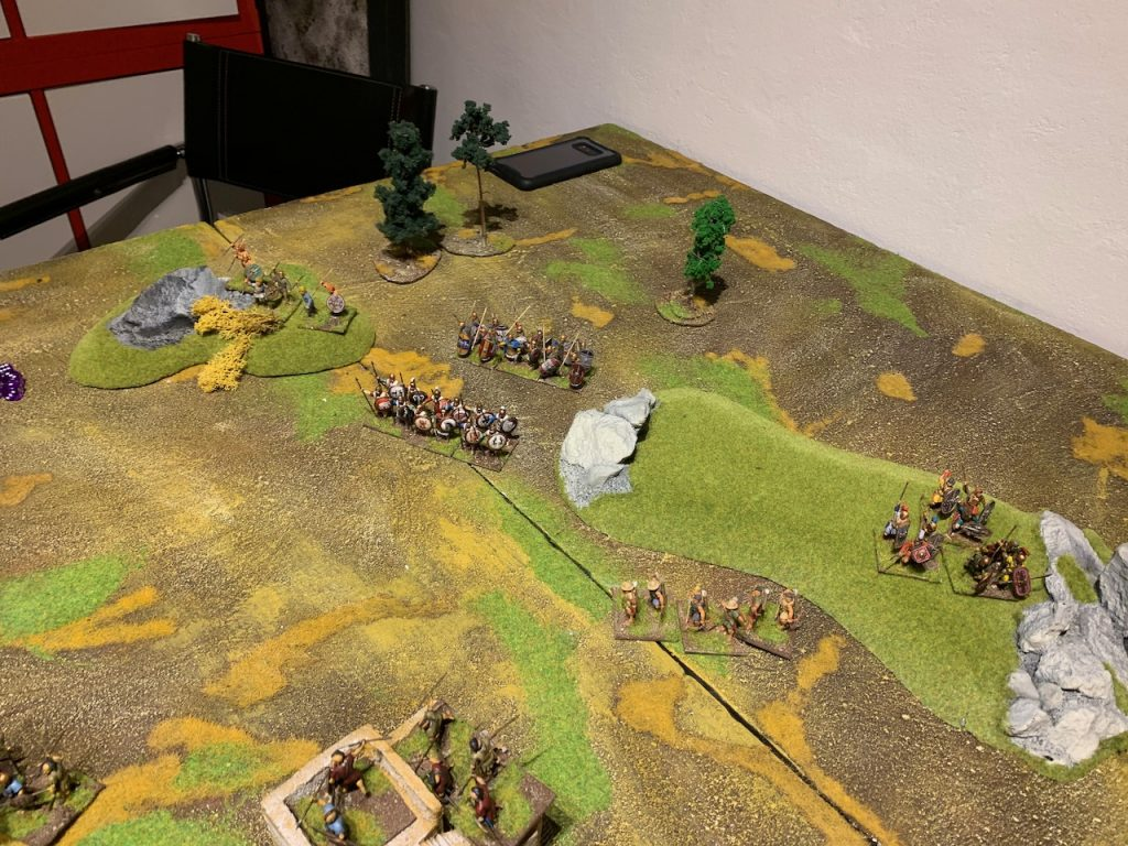 Macedonian army for Lion Rampant game 3