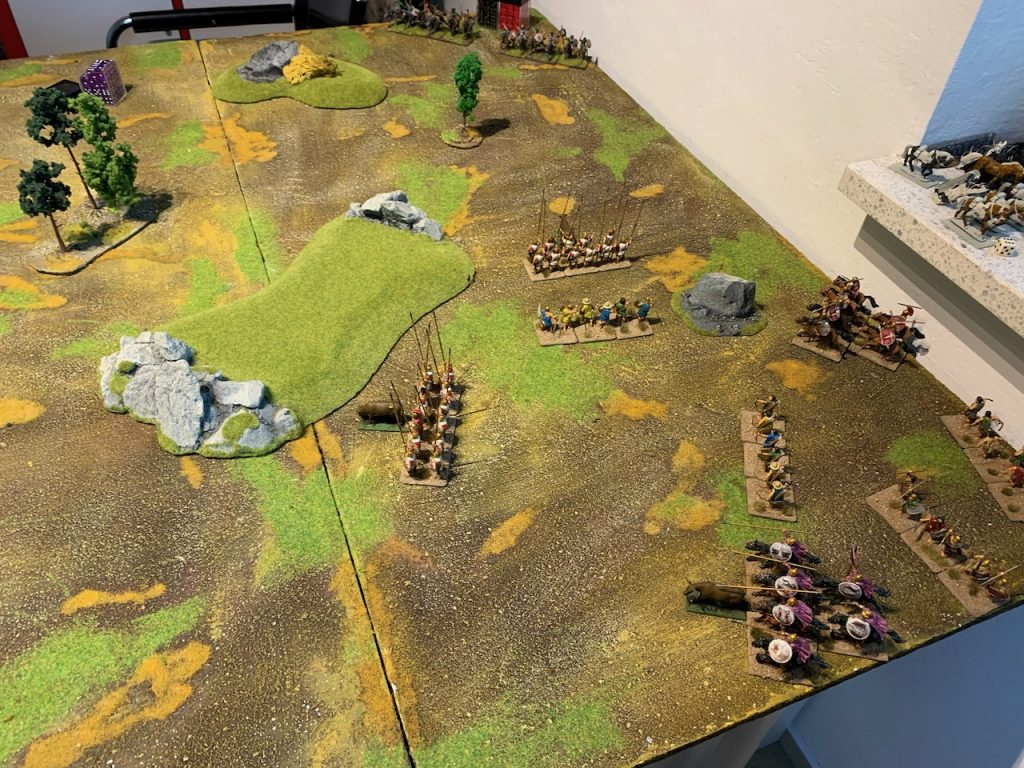 Macedonian army for Lion Rampant game 2
