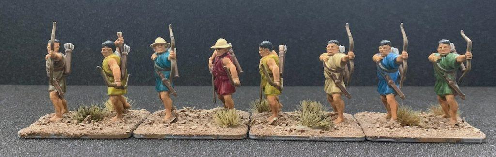 Victrix Greek Archers front view