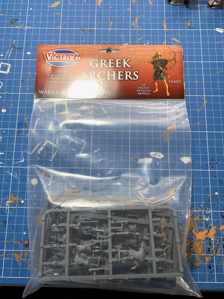 Victrix Greek Archers box