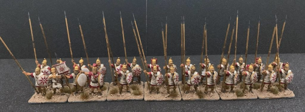 Victrix Macedonian Phalangites ready for the battle