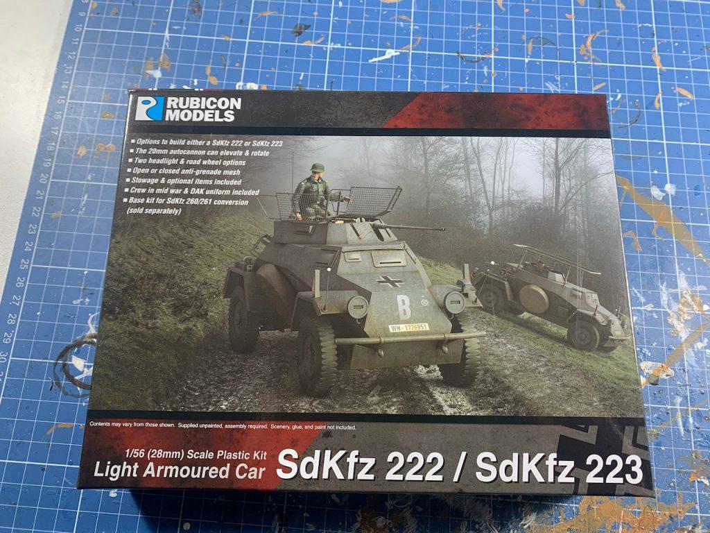 Rubicon SdKfZ 222 cover