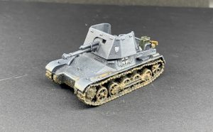 Blitzkrieg Miniatures Panzerjäger I finished